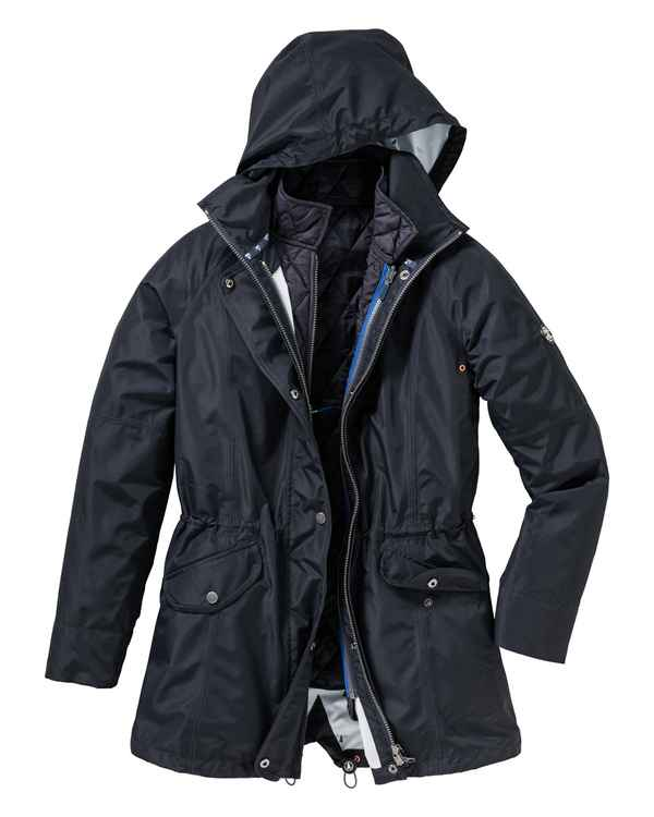 Barbour Jacke Winter Trevose Marine