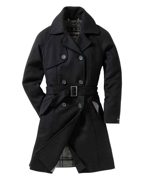 Barbour Mantel Nebit Schwarz