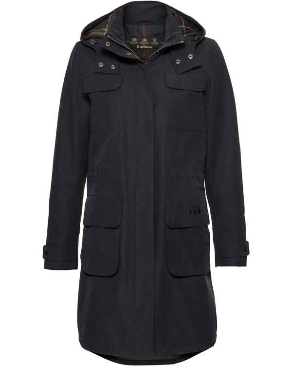Barbour Mantel Velum Marine