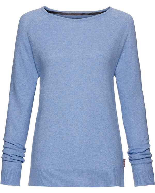 Barbour Pullover Mill Hellblau