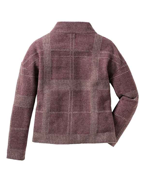 Barbour Pullover Tiree Bordeaux