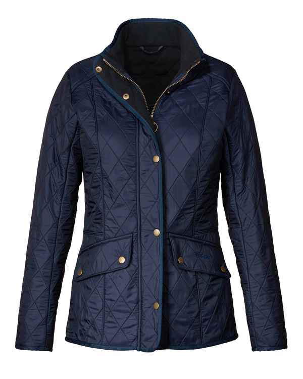 Barbour Steppjacke Cavalry Polarquilt Blau