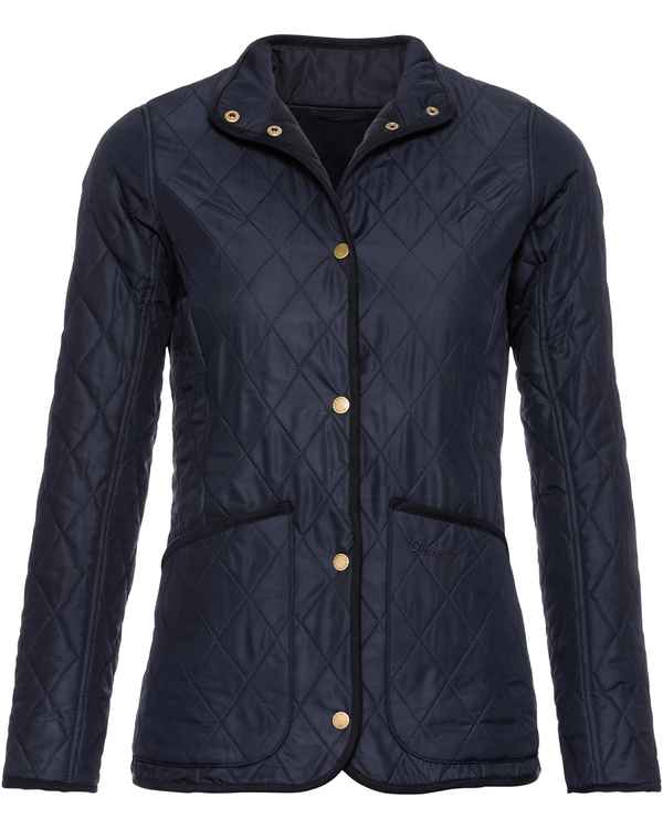 Barbour Steppjacke Combe Navy