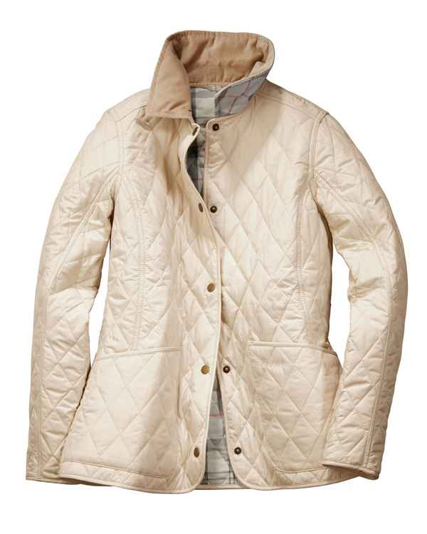 Barbour Steppjacke Spring Annandale Stein