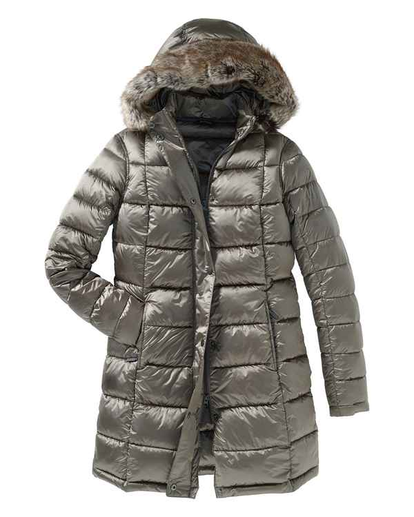 Barbour Steppmantel Haven Taupe