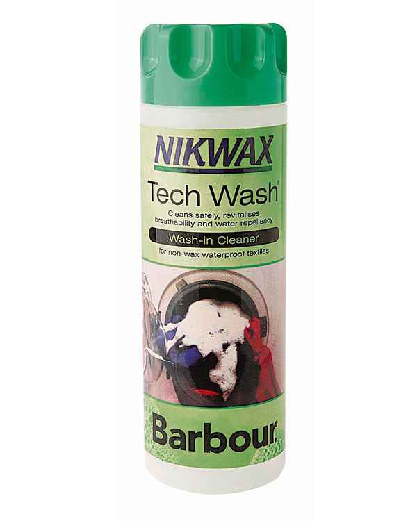 Barbour Tech Wash Nikwax Farblos