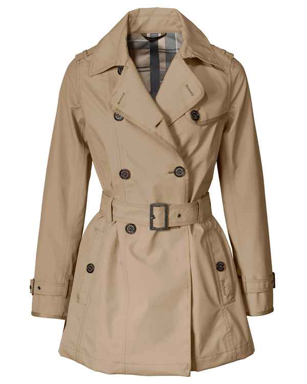 Barbour Trenchcoat Ewan Beige