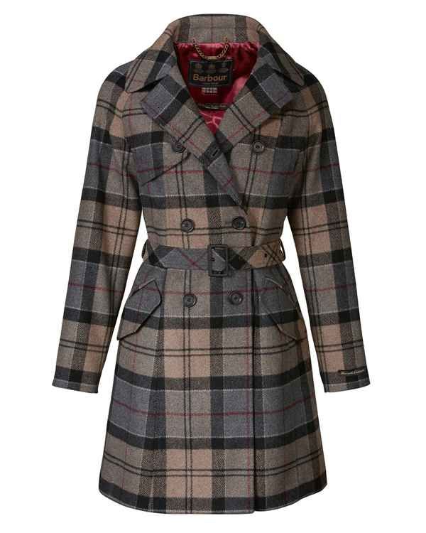 Barbour Wolltrench Dee Grau